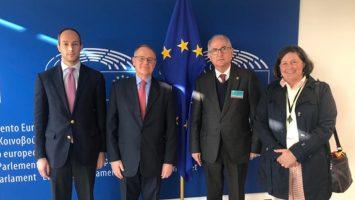 El exalcalde Antonio Ledezma pide al Parlamento Europeo establecer una protección temporal para los migrantes venezolanos.
