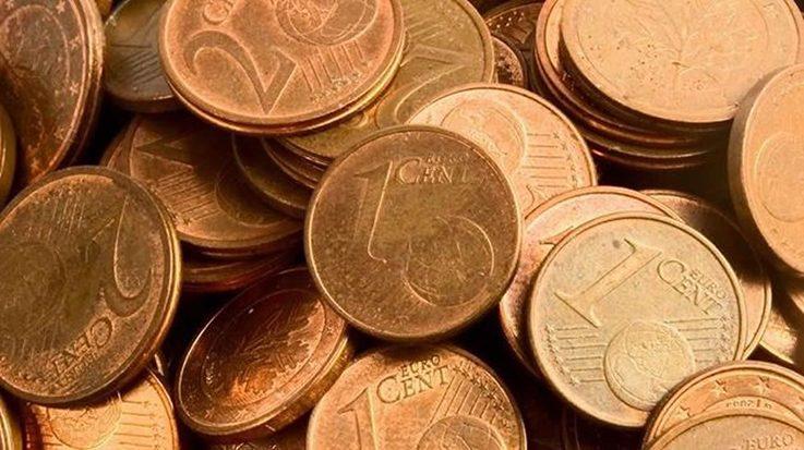 El Eurobarómetro afirma que la mayoría de los españoles están a favor de la supresión de las monedas de 1 y 2 céntimos.