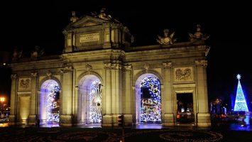 La Comunidad de Madrid cuenta con 7,4 millones de lámparas LED en las principales vías con motivo de la decoración navideña.