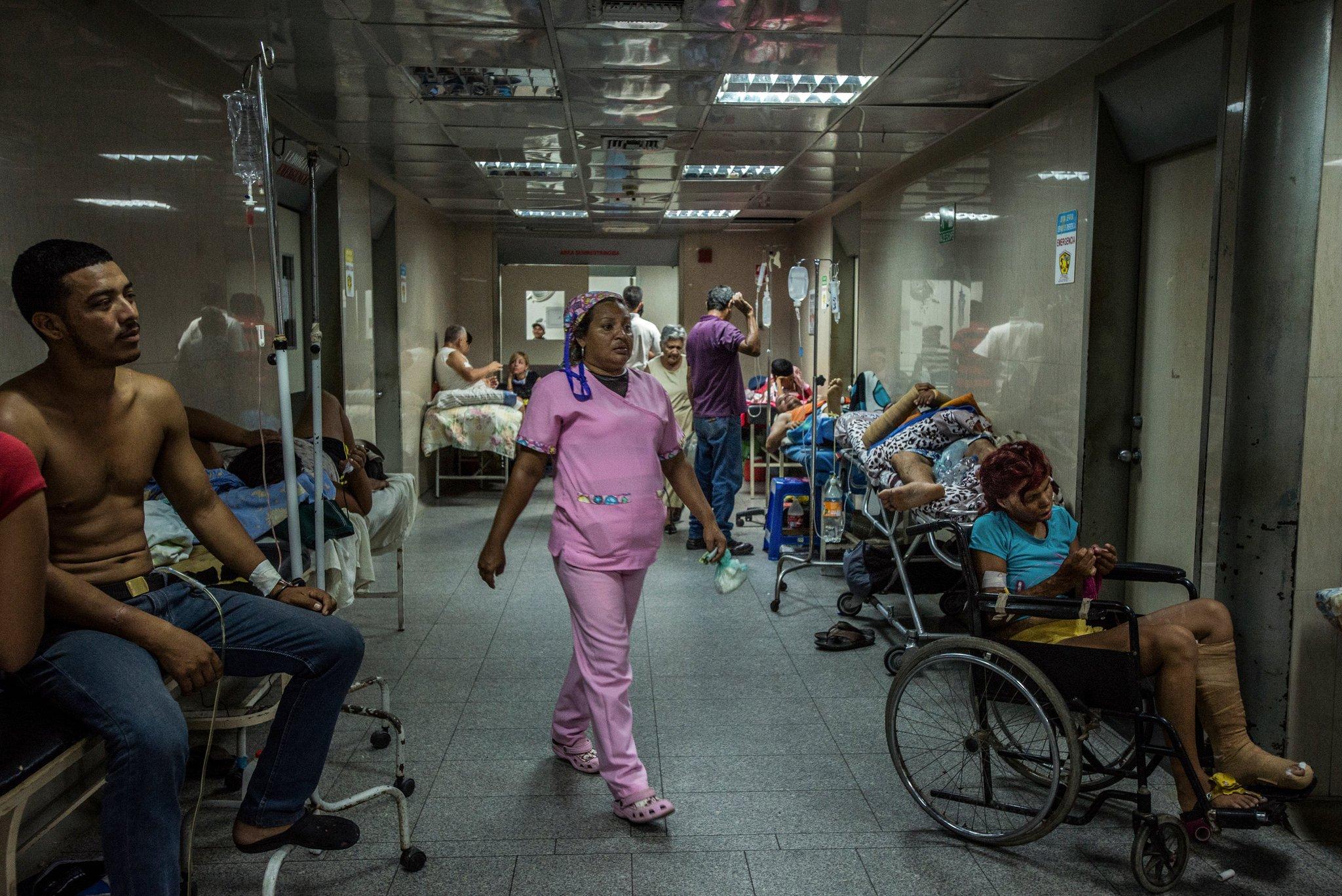 Crisis sanitaria en Venezuela.