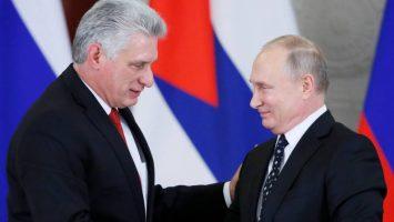 Presidentes de Rusia y Cuba