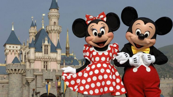 Mickey Mouse y Minnie Mouse
