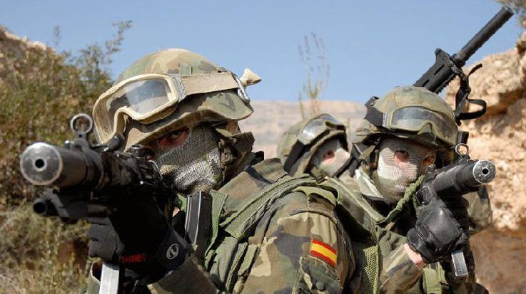 Francotirador del Ejército de España