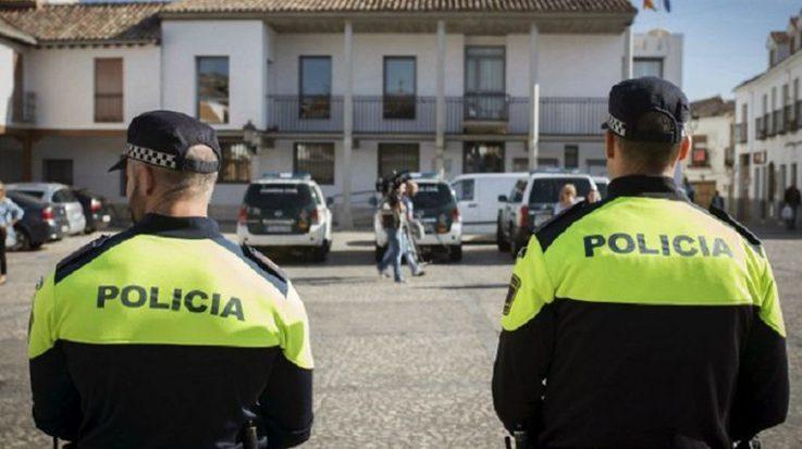 Funcionarios de la policía