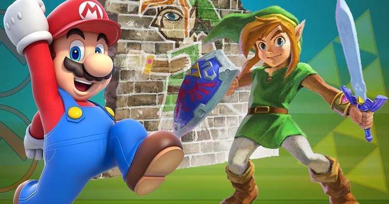 Link y Mario