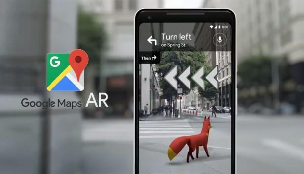 Smartphone con realidad aumentada