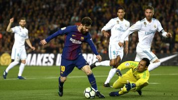 Leo Messi contra el Real Madrid