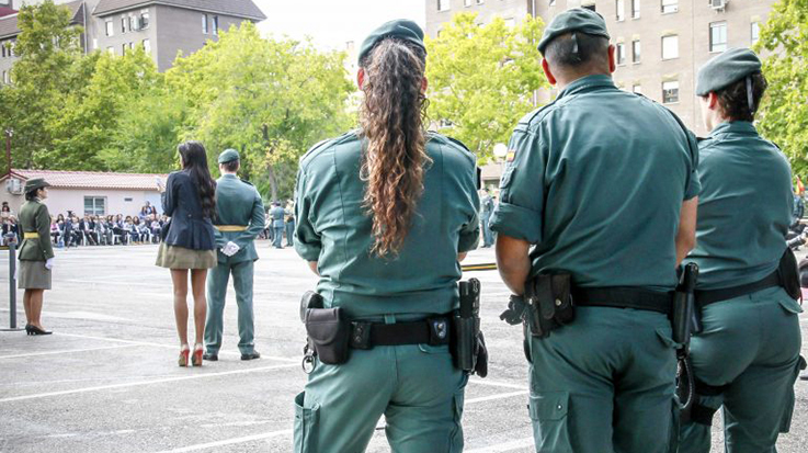 Oficiales Guardia Civil
