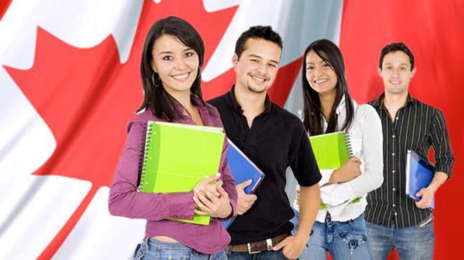 Estudiantes en Canada