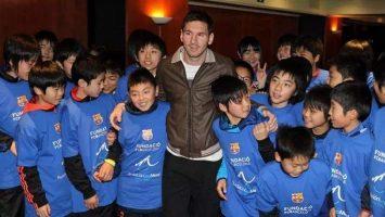 Fundación Leo Messi ayudará a Naipa