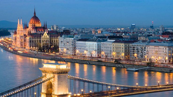 Hungría vista panorámica