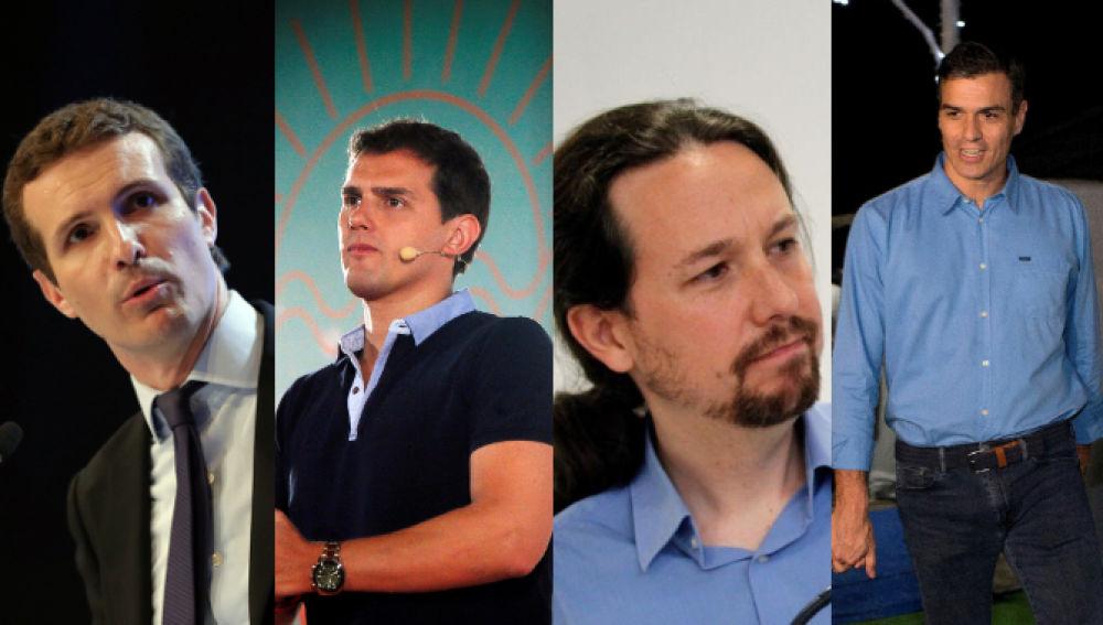 CAndidatos presidenciales españoles