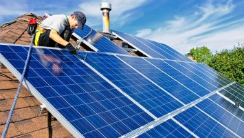 Panel solar de Iberdrola