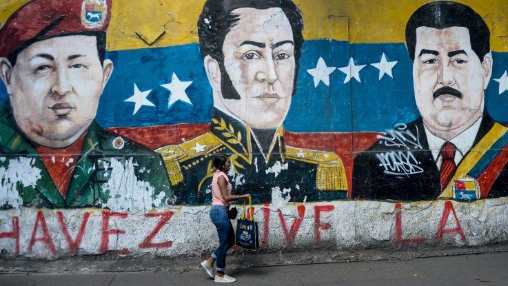 Mural en Venezuela