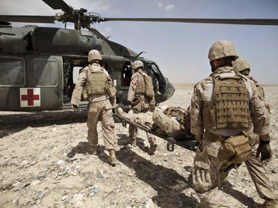 Médicos del ejército