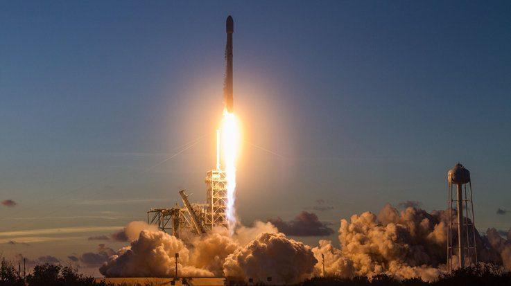 Cohete lanzado desde Brasil