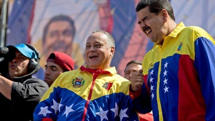 Régimen chavista en Venezuela