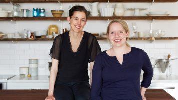 Las emprendedoras Amanda Hesser y Merrill Stubbs