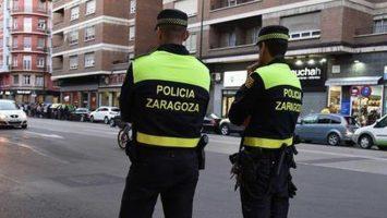 policía de Zaragoza