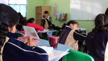 Salón de clases en México