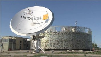 Antena de Hispasat