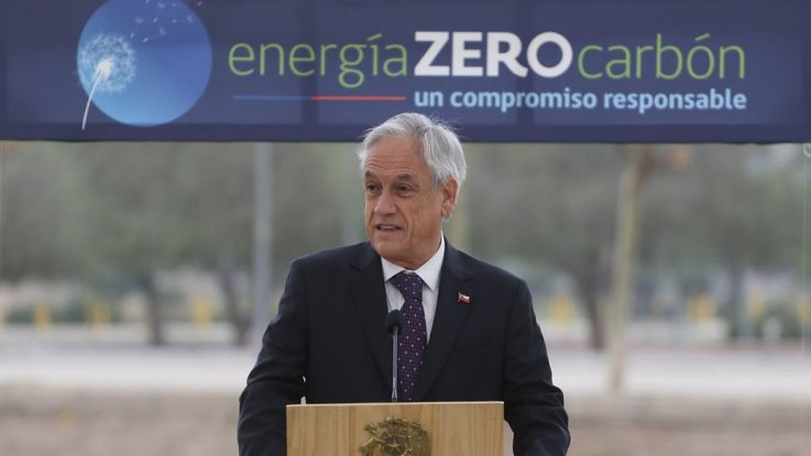 Piñera elimina el carbón