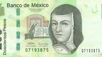 billete mexicano