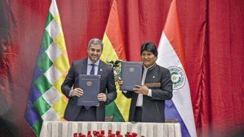 acuerdos entre Bolivia y Paraguay