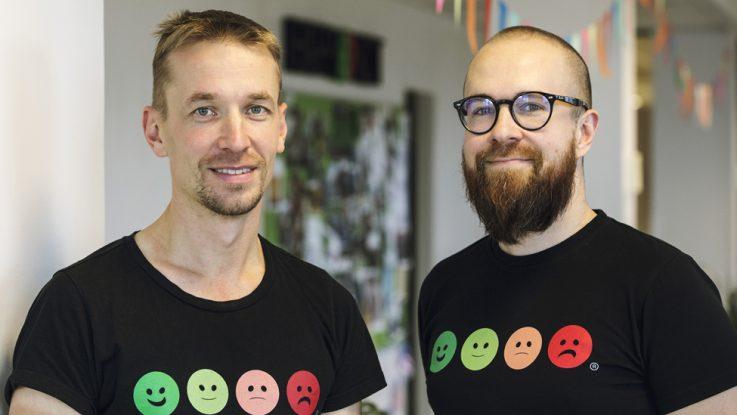 Fundadores de HappyOrNot