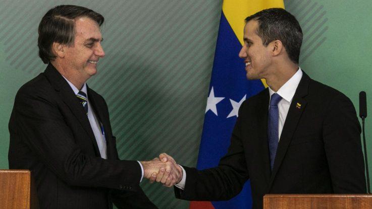 presidentes de brasil y venezuela sobre pasaportes