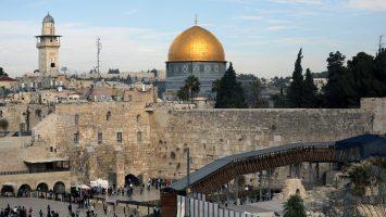 caf contruira un tranvia en Jerusalen