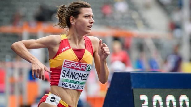 Irene Sánchez Escribano, atleta de élite y futura aspirante alMIR.