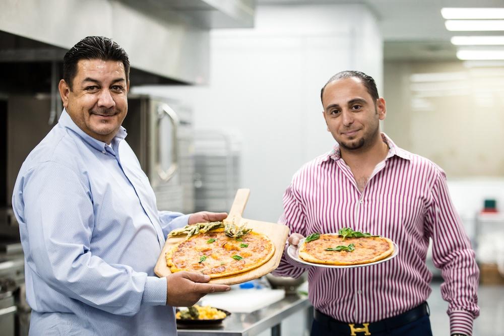 Raúl Molina y chef