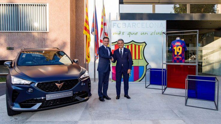 Alianza FC Barcelona y Cupra