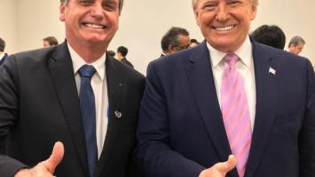 Jair Bolsonaro y Donald Trump acuerdan facilitar las deportaciones
