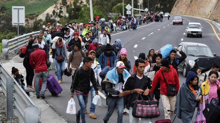 Europa ayuda a venezolanos