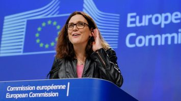 Cecilia Malmström sobre aranceles