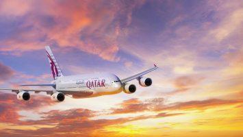 Ante el coronavirus, Qatar Airways ofrece cambiar la fecha de vuelo o bonos de viaje