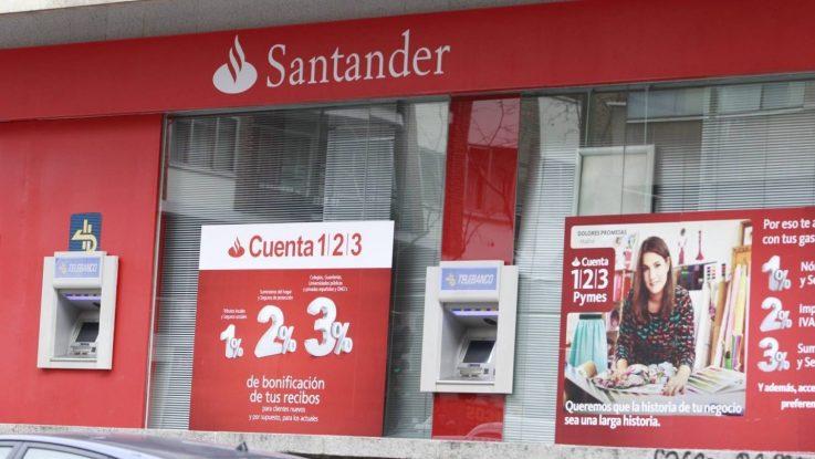 Santander ofrecerá créditos a pymes y autónomos para luchar contra el coronavirus