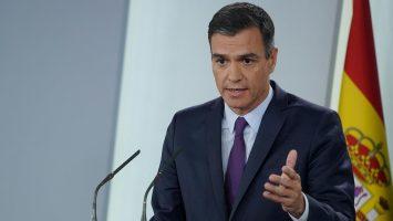 Sánchez considera que se perderán tres meses del PIB de 2020