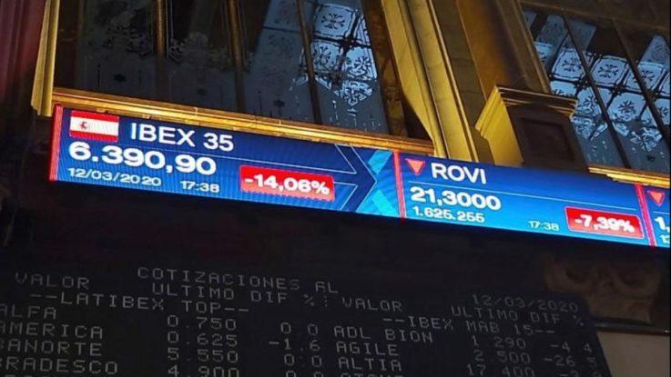 El Ibex 35 cierra con una subida del 1,93%