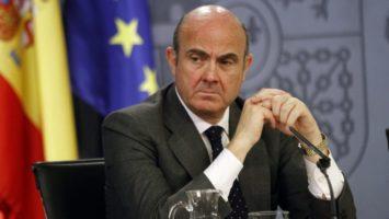 Guindos, vp del BCE, defiende una renta mínima de emergencia