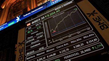 El Ibex 35 rebota un 5,25% a media sesión