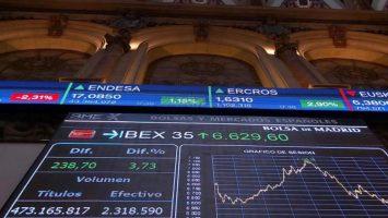 El Ibex 35 remonta 7,8% y tiene su mayor subida en 10 años