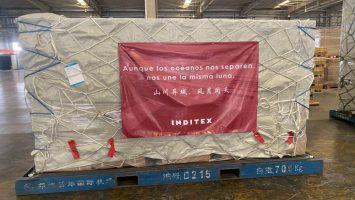 Inditex ha traído 35 millones de unidades sanitaria para combatir el Covid-19