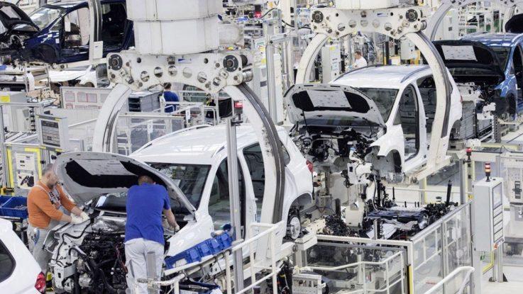 Eurozona producción industrial