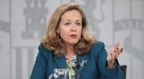 Nadia Calviño ERTE