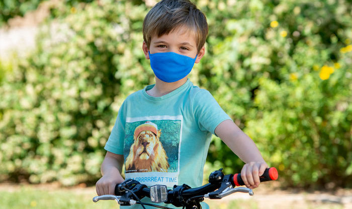 mascarillas infantiles reutilizables