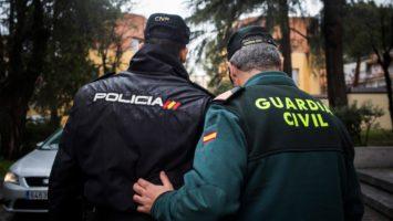 policías y guardias civiles
