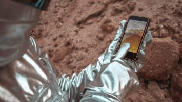 Nokia red 4g en la Luna